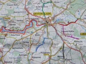 Planowane trasy przez GTC. Może marzenia się spełnią.